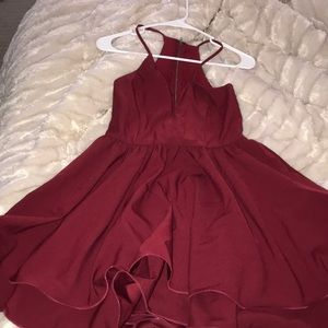 Red dress pictured